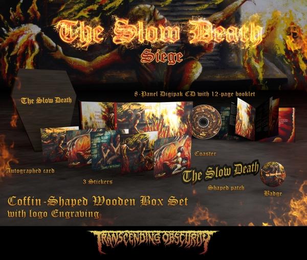 Siege Wooden CD Boxset