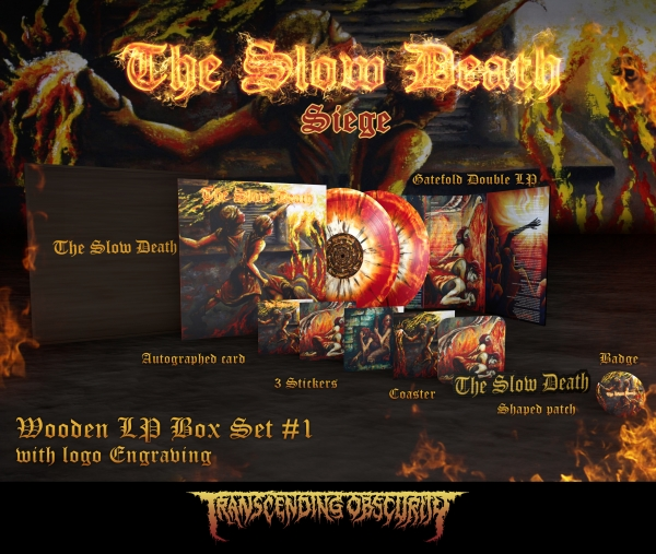 Siege Wooden LP Box