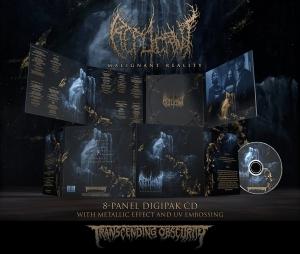 Pre-Order: Malignant Reality Digipak CD