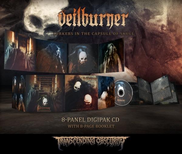 Lurkers in the Capsule of Skull Digipak CD