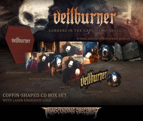 Lurkers in the Capsule of Skull Wooden CD Boxset