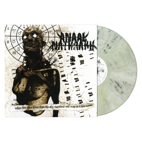 When Fire Rains Down from the Sky, Mankind Will Reap as It Has Sown (Ivory Grey Marbled Vinyl)
