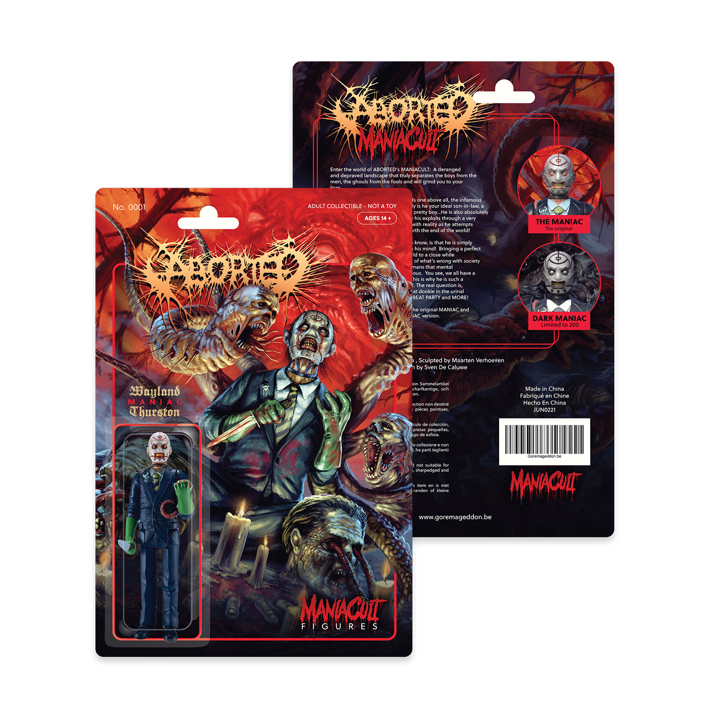 Maniac Figure (Standard Edition)