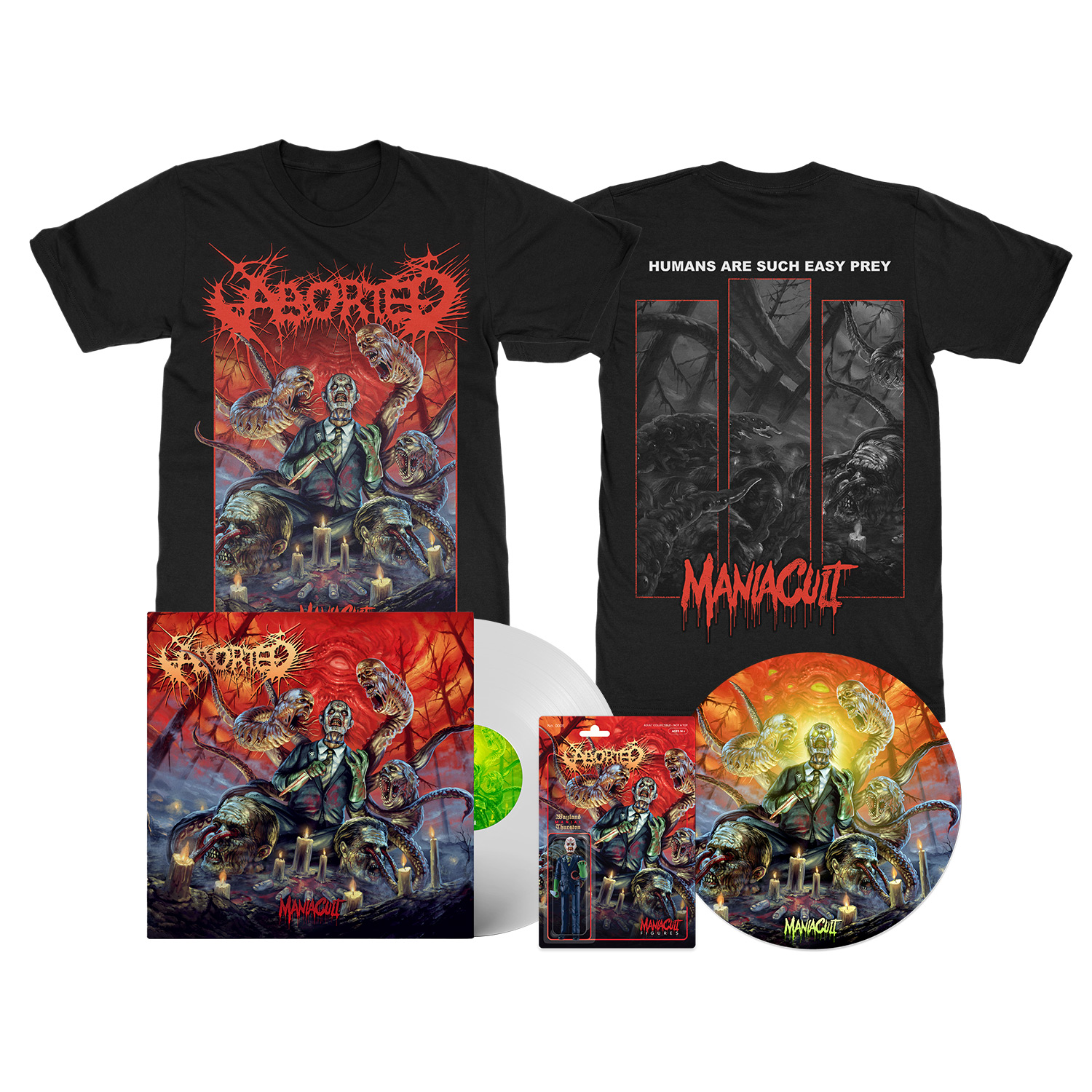 Maniacult Deluxe Ultra Clear Bundle