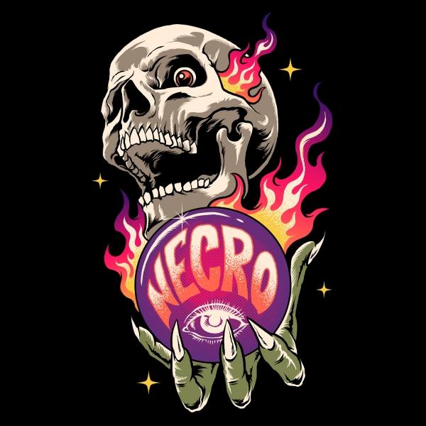 Skull Ball On Fire