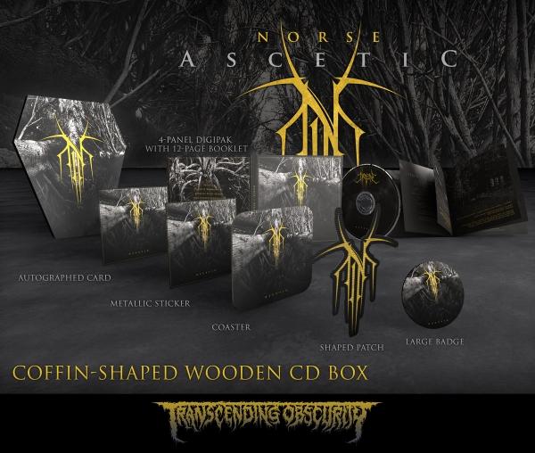 Ascetic Wooden CD Box