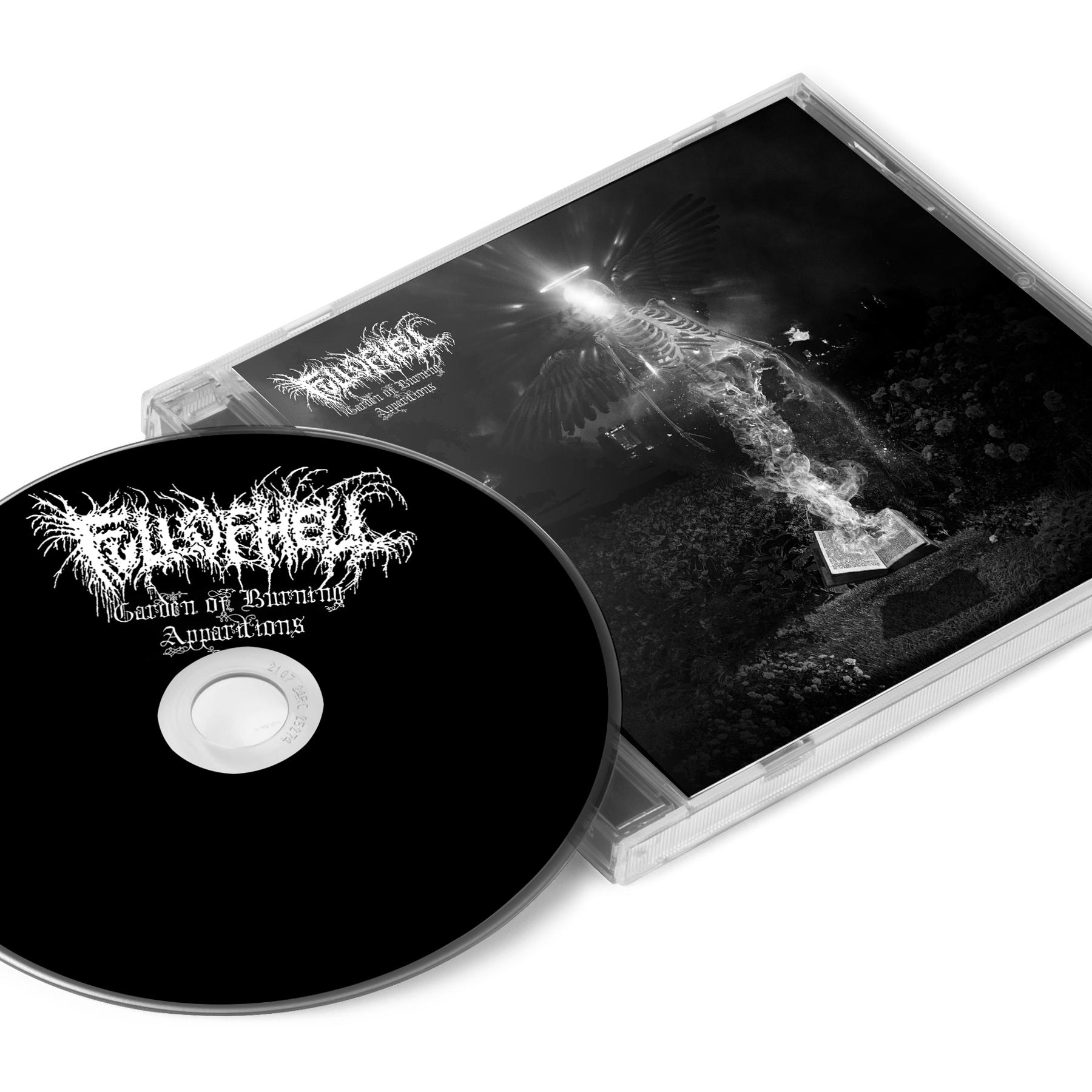 Garden of Burning Apparitions Zip Up Hoodie + CD Bundle