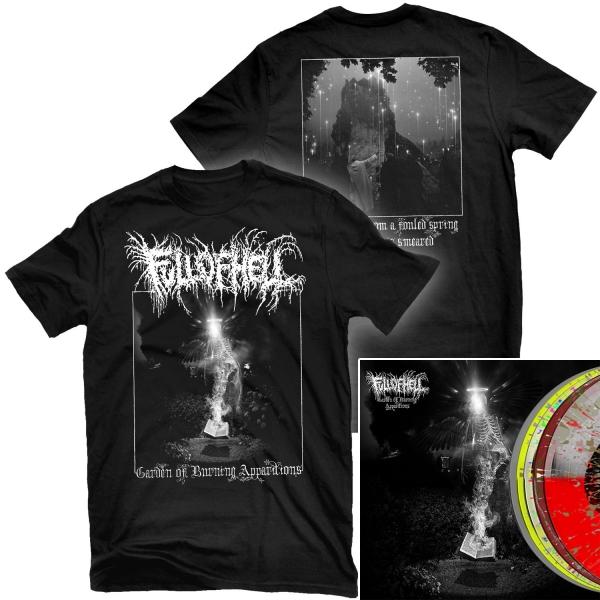 Garden of Burning Apparitions T Shirt + LP Bundle