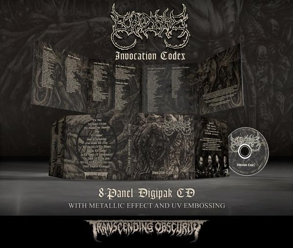 Invocation Codex Digipak CD