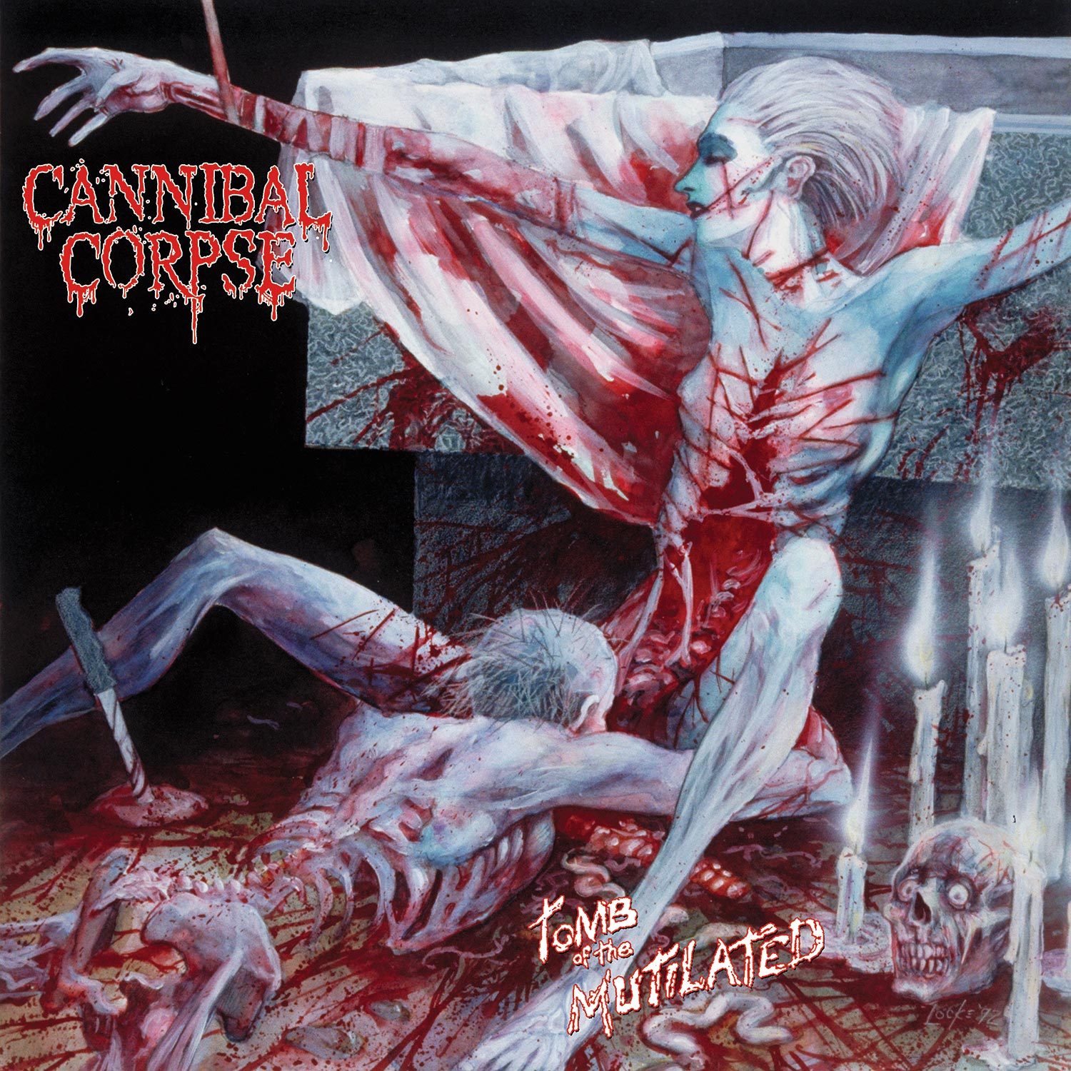 Tomb of the Mutilated (Red Slushie Vinyl)