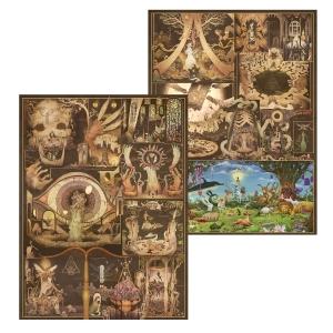 Masstaden Under Vatten Art Poster (2 pack)