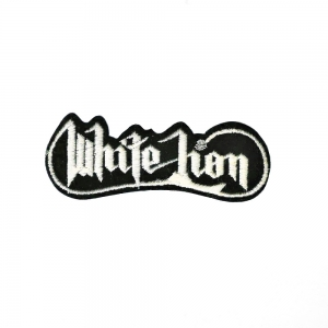 White Logo Vintage Patch (Small)