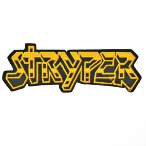 Yellow And Black Logo Vintage Patch