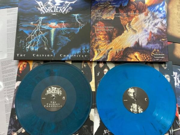 The Cainian Chronicle (transparent blue/black marbled double vinyl)
