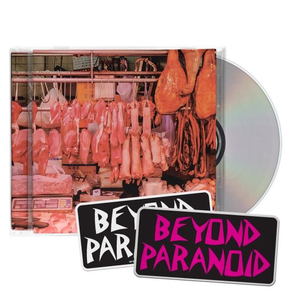 Dead Meat CD/Patch/Sticker Bundle