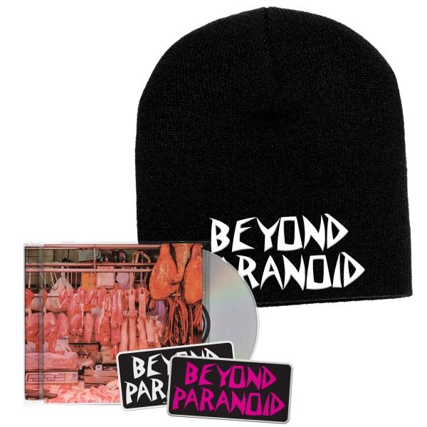 Dead Meat CD/Patch/Sticker/Beanie Bundle