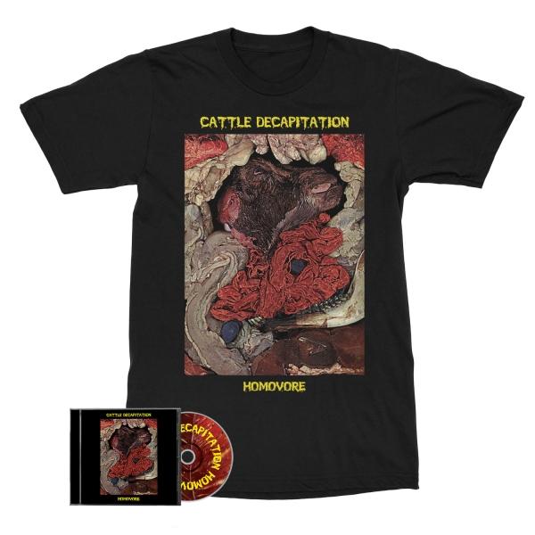 Homovore (Reissue) CD/Tee Bundle