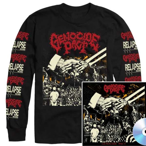 Genocide Pact Longsleeve Shirt + CD Bundle