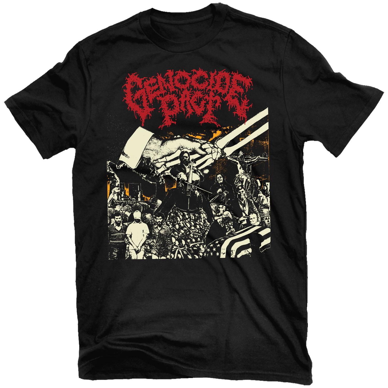 Genocide Pact T Shirt + LP Bundle