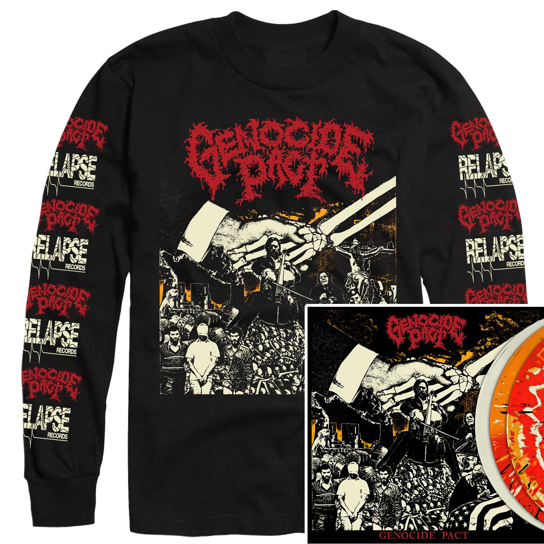 Genocide Pact Longsleeve Shirt + LP Bundle