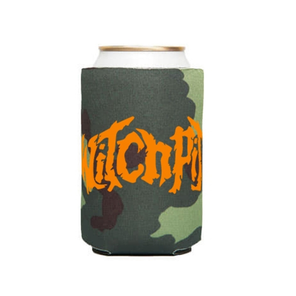 Orange Logo Can Cooler