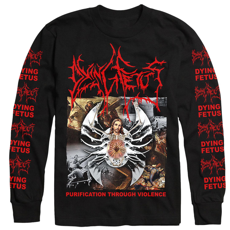 Purification Through Violence Longsleeve Shirt + LP Bundle