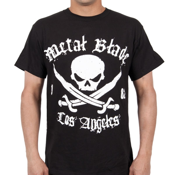 Pirate Logo White on Black