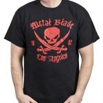 Pirate Logo Red on Black