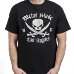 Pirate Logo Silver on Black