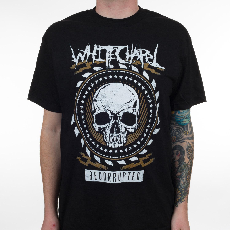 Whitechapel Quot Recorrupted Quot T Shirt Metal Blade Records