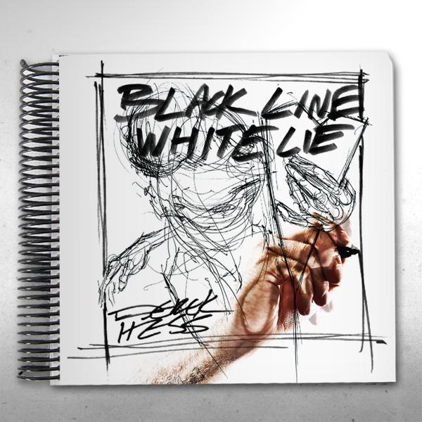 Black Line White Lie - Spiral Bound (Signed)