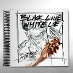Black Line White Lie - Spiral Bound (Signed)