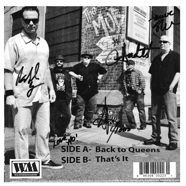 "Back to Queens/That's It 7"" Single"