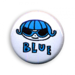 P-Blue Face Button