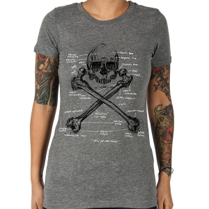 Skull & Femur Girls Tee