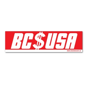 BC USA Sticker