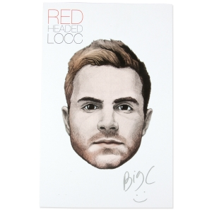 Red Headed Signed Poster