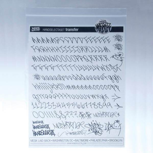 MESK Letraset