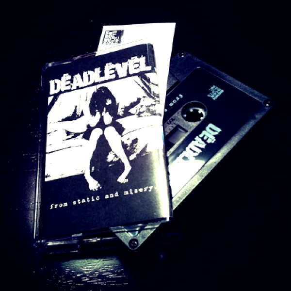 """""""From Static and Misery"""" Cassette / Dropcard"""
