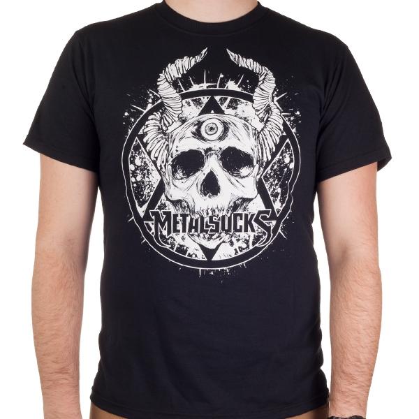 metalsucks demon skull new logo t shirt metalsucks net