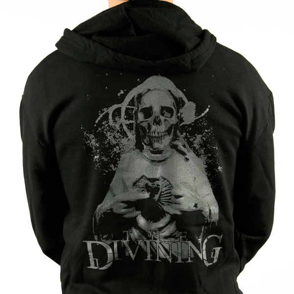 The Divining Skull Zipper Hood