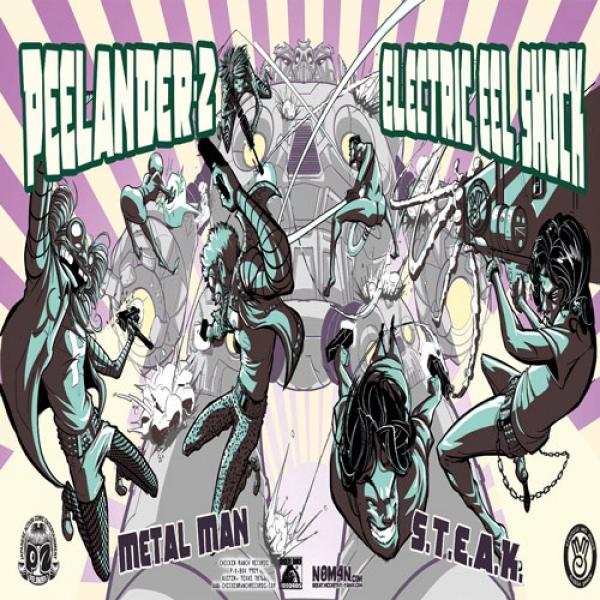 "Peelander-Z/Electric Eel Shock Split 7"""