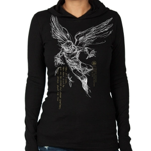 72a5e5c217c Strhess Clothing Falling Feather (T-Shirts).  29.99. Falling Feather Girls  Hooded Longsleeve