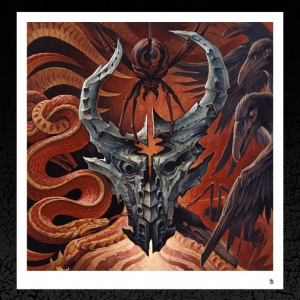 Demon Hunter. 'Triptych' Album Cover