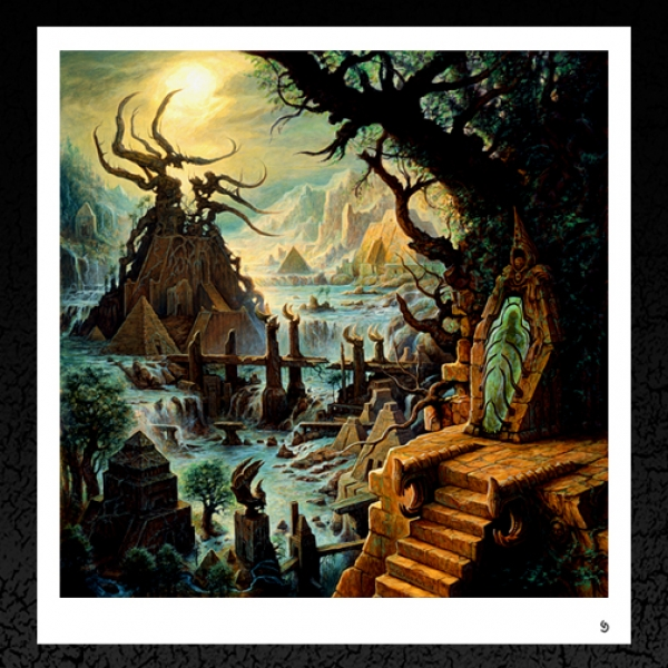 Rivers of Nihil. (Seed of Light) Album Cover