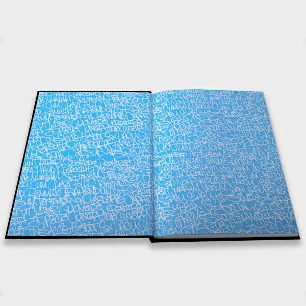 Handselecta Blank Blackbook - Doublesided Coated Paper