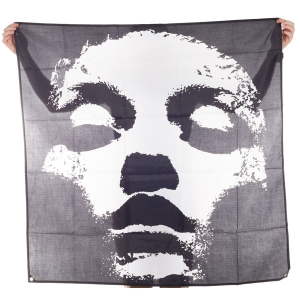 Jane Doe Face Art Flag