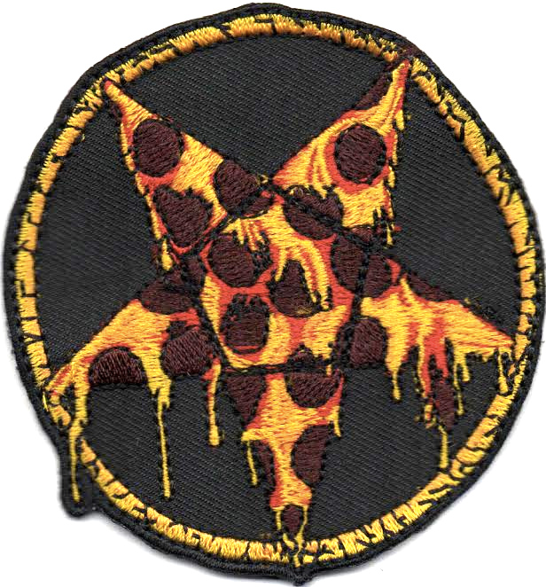 Embroidered Pizzagram Patches