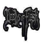 Grey logo patch