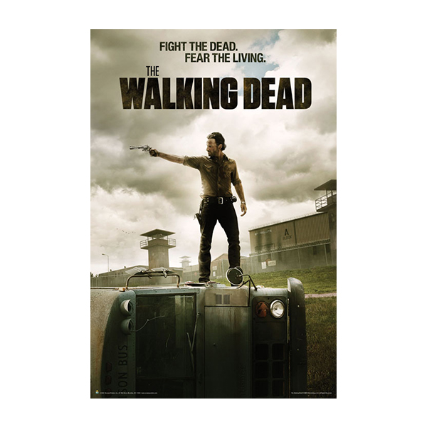 The Walking Dead Quot Season Three Subway Poster Quot Posters